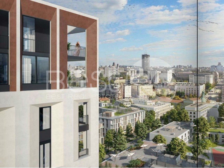 Stan u novogradnji, Prodaja, Savski Venac (Beograd), Beograd na vodi