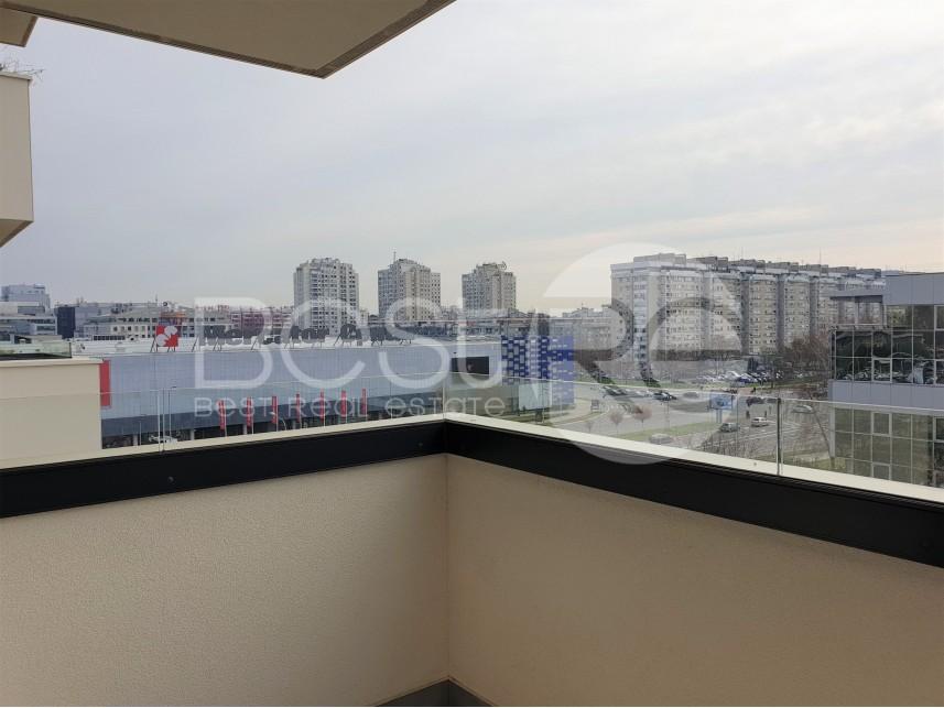 Stan u novogradnji, Izdavanje, Novi Beograd (Beograd), Blok 31 (Merkator)