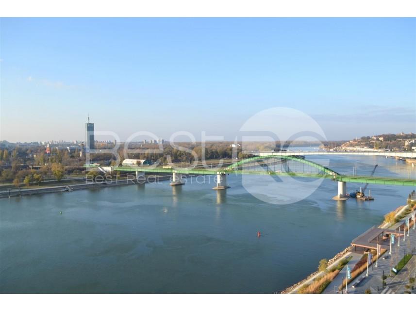 Savski Venac (Beograd), Beograd na vodi